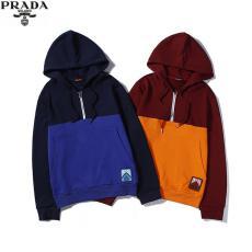 PRADA プラダ パーカー2色カップルブランドコピー販売口コミ代引き後払い国内発送優良店