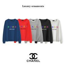 シャネル CHANEL メンズラウンドネック レディース5色綿特価 ブランドコピー 優良サイト