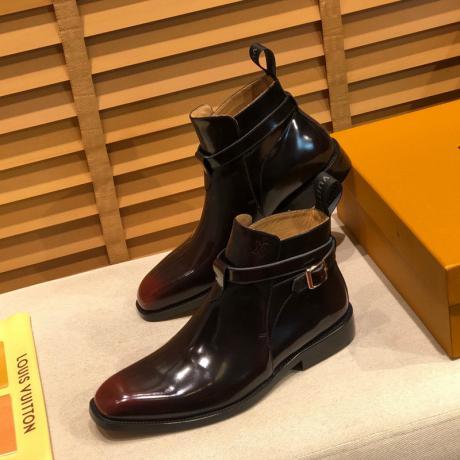 LOUIS VUITTON ヴィトン メンズビジネスシューズ紳士革靴通勤 外出2色ハイヒールロングノーズスーパーコピー代引き国内発送安全後払い優良サイト