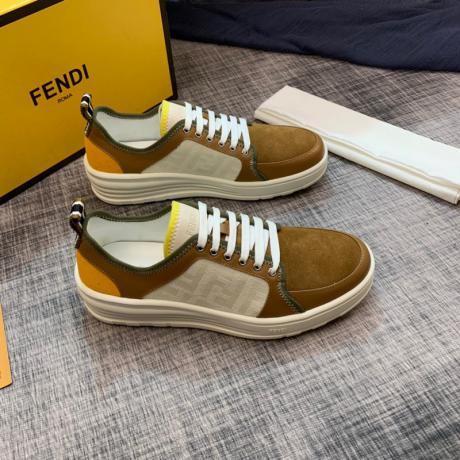 フェンディ FENDI ローファーローカット通気性3色カジュアルシューズ外出レプリカ販売靴