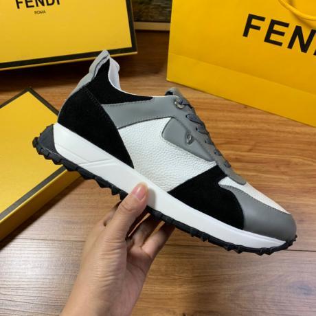 FENDI フェンディ 運動靴ウォーキングシューズランニングシューズ 4色メンズ防滑通気性カジュアルシューズ快適本当に届くスーパーコピー国内安全後払い代引きサイトline