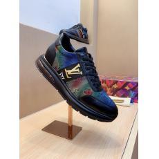 希少お早めに ルイヴィトン LOUIS VUITTON  通気性快適運動靴ウォーキングシューズ疲れない2色ブランドコピー 優良サイトline