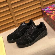 すぐにお届け LOUIS VUITTON ヴィトン メンズ運動靴紐ウォーキングシューズローカット定番カジュアルシューズ外出ローファー本当に届くブランドコピーおすすめ店