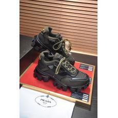 プラダ PRADA 厚底バスケットシューズランニングシューズ 運動靴カジュアルシューズスニーカー3色防滑通気性ブランドコピー代引き安全後払い優良サイト