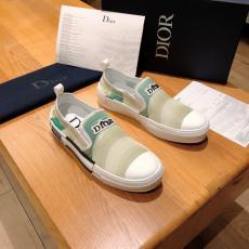 他の人と差を ディオール Dior キャンバススリッポンカジュアルシューズ5色布靴ウォーキングシューズシンプルセール価格 ブランドコピー専門店
