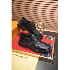 累積売上額TOP6 ルイヴィトン LOUIS VUITTON  4色ロングノーズ革靴ビジネスシューズ紐紳士メンズシンプル本当に届くスーパーコピー優良サイト