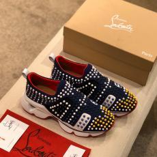 世界中で大人気 クリスチャンルブタン Christian Louboutin スニーカーおしゃれ防滑カジュアルシューズ外出通気性レプリカ販売靴
