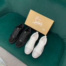 希少お早めに Christian Louboutin クリスチャンルブタン メンズシンプルカジュアルシューズ2色ボルトローカットローファー靴偽物販売口コミ