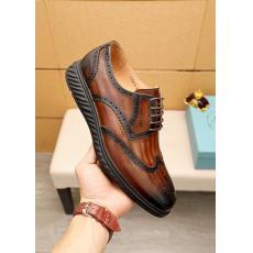 プラダ PRADA ビジネスシューズ革靴ロングノーズ通勤 紳士おしゃれメンズシンプル3色コピー靴 販売