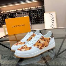 LOUIS VUITTON ルイヴィトン 3色ウォーキングシューズカジュアルシューズ運動靴紐牛革デニムおしゃれ快適本当に届くブランドコピー優良サイト