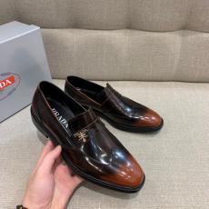 PRADA プラダ 6色メンズシンプル革靴ビジネスシューズ紳士通勤 ロングノーズセール価格 ブランドコピー販売口コミ代引き後払い国内発送優良店line