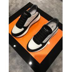 2021日本未発売新作 プラダ PRADA メンズランニングシューズ バスケットシューズカジュアルシューズ運動靴スニーカー防滑快適通気性疲れないレプリカ激安代引き対応