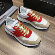 プラダ PRADA 4色運動靴カジュアルシューズランニングシューズ バスケットシューズスニーカー通気性疲れないウォーキングシューズ外出特価 本当に届くスーパーコピーおすすめ店