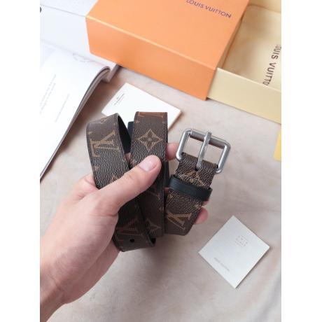 ヴィトン LOUIS VUITTON  柔軟ベルト快適幅3cm2色ブランドコピー n級品国内優良サイトline