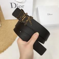ディオール Dior ベルト牛革新作本革クラシック 幅3.4cm4色スーパーコピーベルト安全後払い工場直売専門店