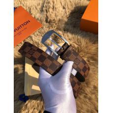 2021最新/限定 ヴィトン LOUIS VUITTON  柔軟両面ズックベルト牛革定番5色幅3.5cmスーパーコピー 代引き届く工場直売信用できるサイト