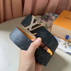 関税込み ヴィトン LOUIS VUITTON  両面ベルト両面新作幅4cm3色スーパーコピーベルト安全後払いおすすめサイト
