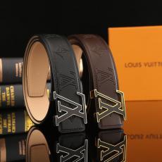 他の人と差を ヴィトン LOUIS VUITTON  ビジネスカジュアル牛革精巧2色幅3.8cmブランドコピー 代引き工場直売届くおすすめ