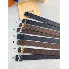 注目商品 ルイヴィトン LOUIS VUITTON  柔軟ベルト牛革定番幅4cm8色スーパーコピーブランド安全なサイト