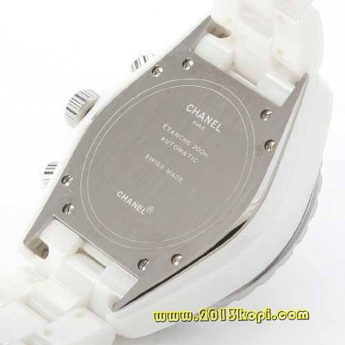 シャネル スポーツ J12 オートマチック  セラミック ホワイト メンズ H1007