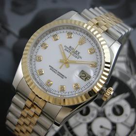 おしゃれなブランド時計がロレックス-デイトジャスト-ROLEX-116233G-136-男性用を提供します. 代引きコピー商品ファッション通販