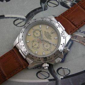 おしゃれなブランド時計がロレックス-デイトナ-ROLEX-ROL00502J-Q-男性用を提供します. 可能