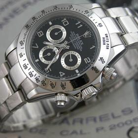 おしゃれなブランド時計がロレックス-デイトナ-ROLEX-116520-27-Q-男性用を提供します. 激安