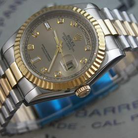おしゃれなブランド時計がロレックス-デイデイト-ROLEX-116233G-138-男性用を提供します. 商品口コミ