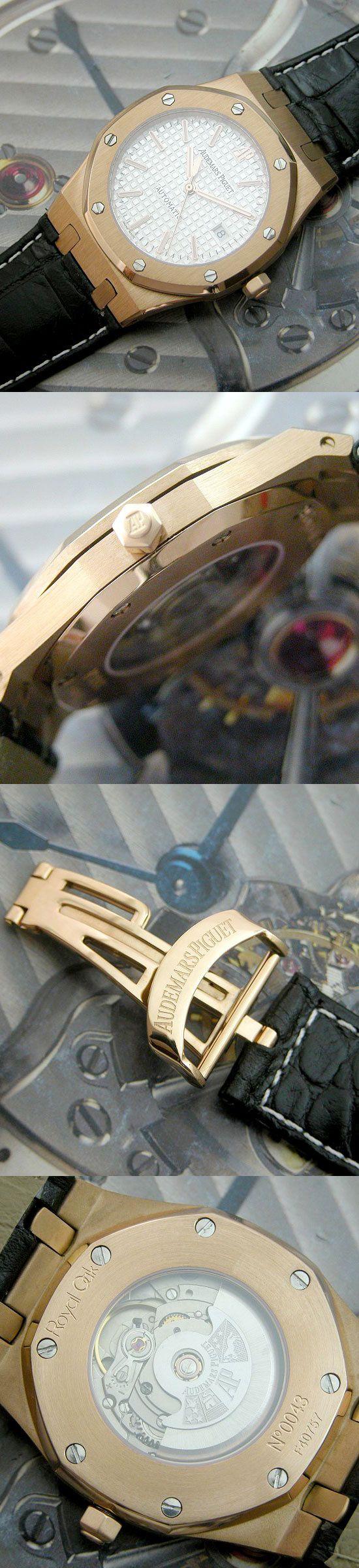 おしゃれなブランド時計がオーデマピゲ-ロイヤルオーク-AUDEMARS PIGUET-15300OR.00. D002CR.01-ah-男性用を提供します.