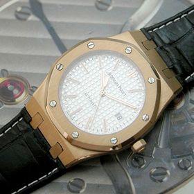 おしゃれなブランド時計がオーデマピゲ-ロイヤルオーク-AUDEMARS PIGUET-15300OR.00. D002CR.01-ah-男性用を提供します. 後払い