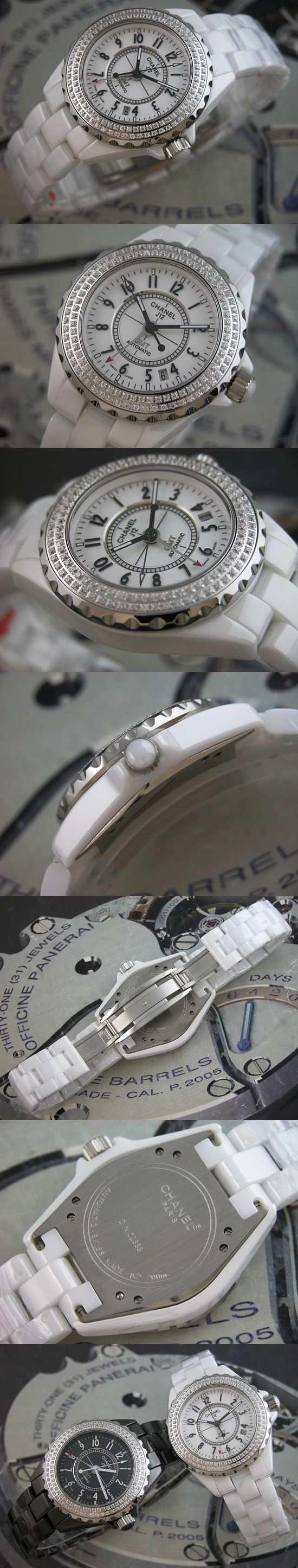 おしゃれなブランド時計がシャネル-CHANEL-H0969-bb-J12-男性用を提供します.